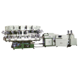 NSK-717,Rotary Type Automatic PU Single Density Injection Moulding Machine